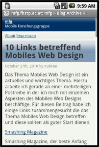 Wordpress Mobile Pack Android