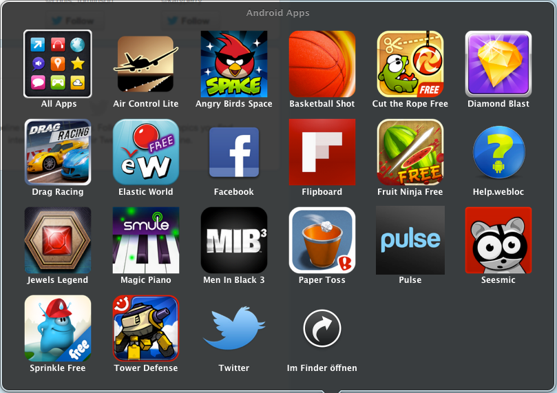bluestacks bringt android apps auf mac pc mfg. Black Bedroom Furniture Sets. Home Design Ideas
