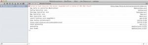 Konsole im Desktop-Safari