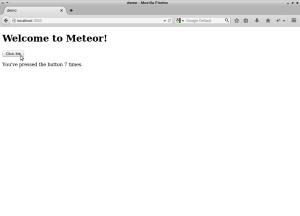 Die Demo-App im Browser