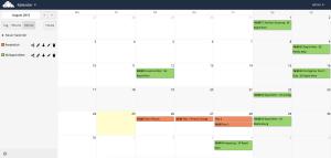 ownCloud Kalender
