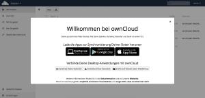 Willkommen bei ownCloud