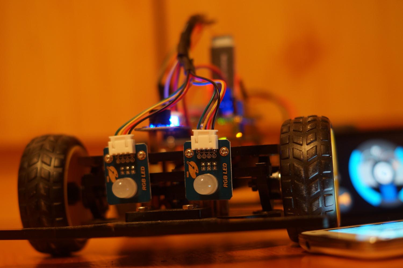 Bluetooth arduino mit ios android rc car mfg