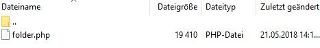 Dateiverzeichnis